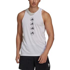 adidas Logo Tank Top Men white